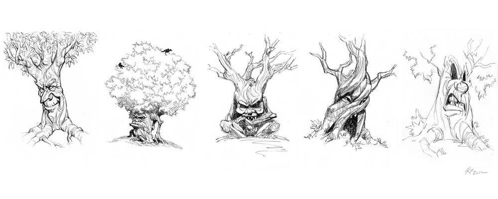 Storyboards Amp Concept Art Rick Fairlamb Portfolio And Blog 187 Archive 187 Nintendo Tree