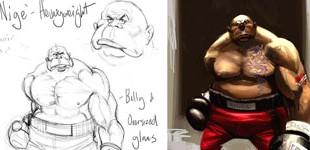 Nige'- Boxer Character Design