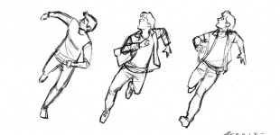 Time Trips (Running sketches)
