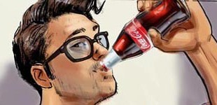 Coca Cola - 'Subway' Animatic frames