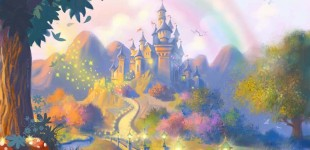 Fairytale Castle Illustration (For NORCON)